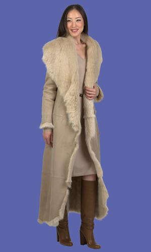 Women&39s Sheepskin Coat | Josephine | D&39Andre NY