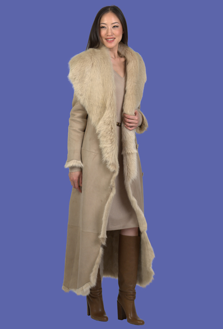 Shearling Coats | Sheepskin Coats | D'Andre New York