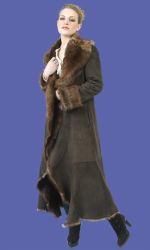 Women's Shearling Coat | Nathalie | D'Andre NY