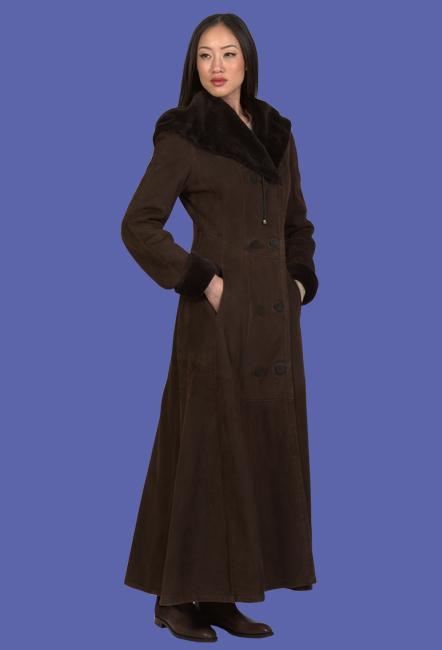 Women's Shearling Coat | Renee | D'Andre NY