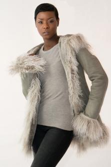 Women's Shearling Coat | Sheepskin Jacket | D'Andre NY